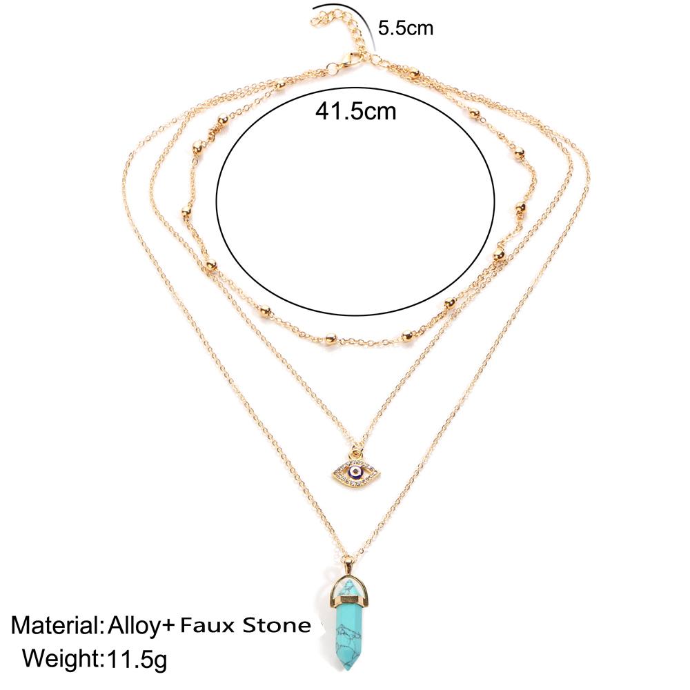 HTB1XA5QRVXXXXajXpXXq6xXFXXX3 - Vintage Opal Stone Chokers Necklaces