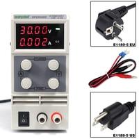 KPS3010DF 0 30V/0 10A 110V 230V 0.01V/0.001A EU LED Digital Adjustable Switch DC Power Supply mA Display 4 Digits