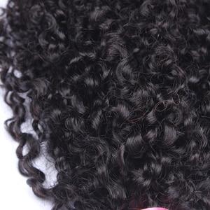 Image 4 - ブラジル変態人毛 1 または 3 バンドル 3B 3C 毛織り非レミー自然な人間の毛髪延長キャラ