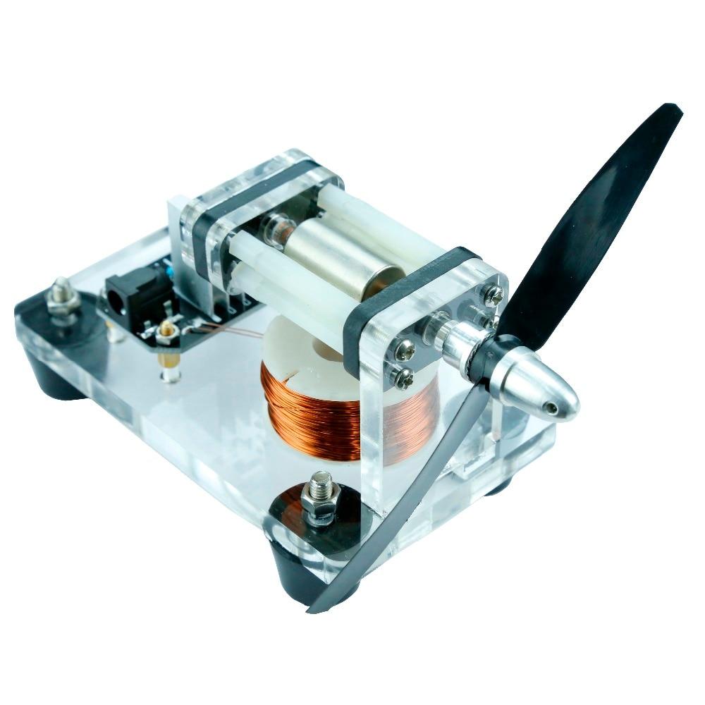 Blade type high speed Hall motor, brushless motor, high speed micro motor gift, DIY creative type 55tyb recorder calorimeter motor 375 motor turn