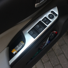 For Honda CRV CR-V Accessories 2012 2013 2014 2015 2016 Stainless Steel Interior Door Window Switch Panel Cover Trim yaquicka car interior steering wheel u shape trim styling cover bezel fit for honda crv cr v 2012 2013 2014 2015 abs accessory