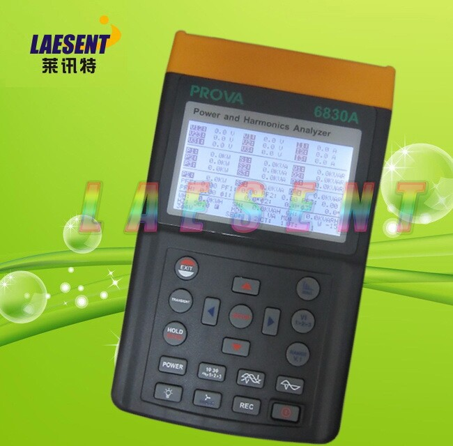 PROVA-6830A + 3007 3 phase Puissance et Harmoniques analyzer 3000A Analyseur PROVA6830A + 3007 (3000A)