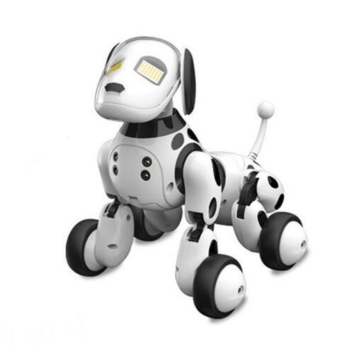 DIMEI 9007A Интеллектуальный RC робот игрушка для собак умная собака Детские игрушки милые животные RC Интеллектуальный робот игрушки с дистанцио