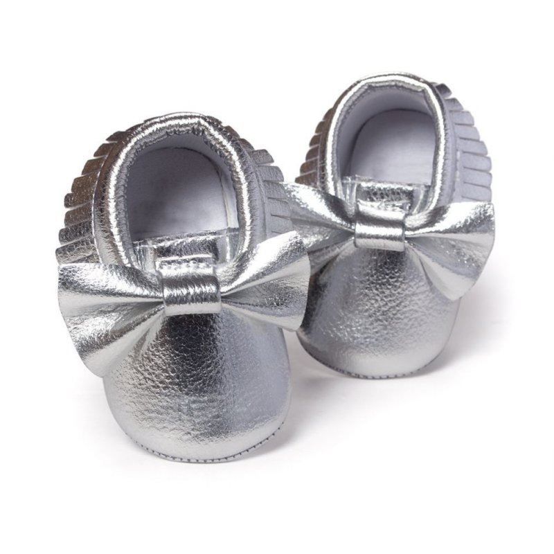 Купить с кэшбэком Hot Sale Baby Shoes Toddler Handmade Walking Shoes Newly Baby moccasins Anti-slip Soft Sole Crib Shoes PU leather Boots Sneakers