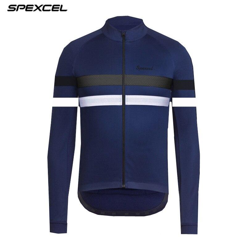 SPEXCEL 2018 Top qualité Hiver Coupe-Vent résistance à l'eau vélo Veste D'hiver thermique polaire bande Réfléchissante Vélo jersey