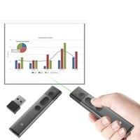 Haweel Wireless USB Powerpoint Presenter Remote Control 100m 2 4GHz Wireless Presenter With Laser Pointer Clicker