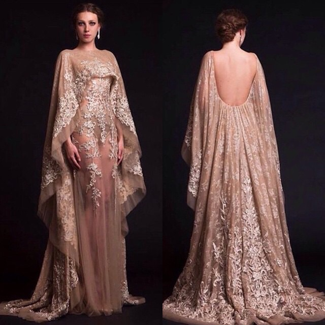 Collection Evening Gown With Sleeves Pictures - Gift and fashion