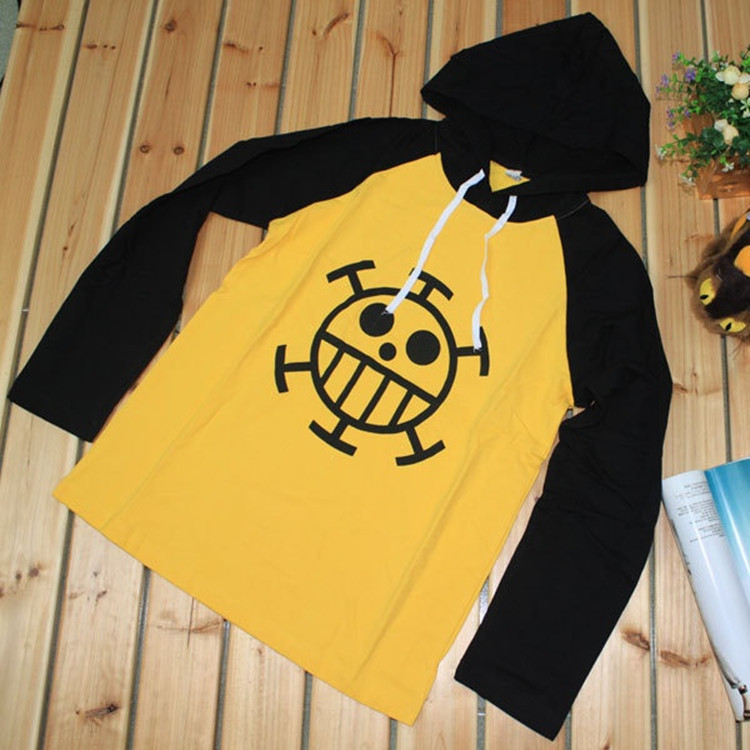 54a99dd07 Anime one piece Trafalgar Law Hoodie Jacket Cosplay Costume Hooded  Sweatshirt Long Sleeve Cotton T Shirt Men XXXL Free Shipping-in T-Shirts  from Men's ...
