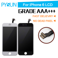 AAAA Alta Calidad Sin Píxeles Muertos Pantalla Para Apple iPhone 6 LCD Reemplazo de la Pantalla Táctil Con Digitalizador 4.7 pulgadas 10 unids/1 lote