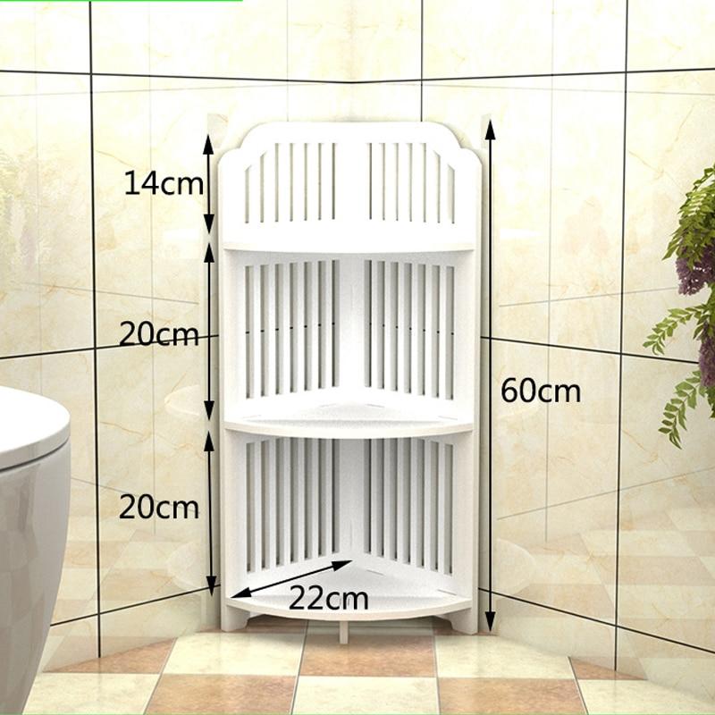 Attirant All Sizes Bathroom Storage Shelves Toiletries Plants Shoes Sundries Storage  Rack Waterproof Bathroom Corner Cabinet Shower Shelf In Storage Holders U0026  Racks ...