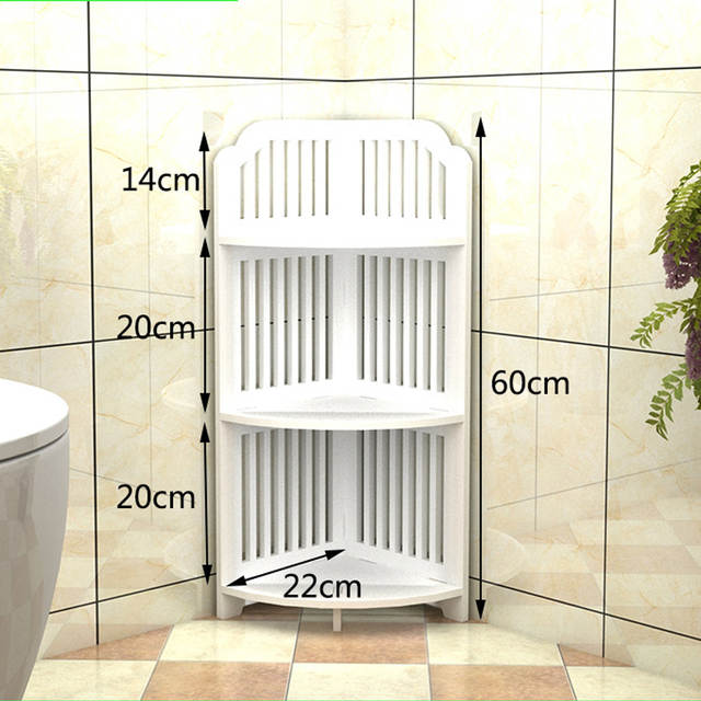 US $52.99 50% OFF|All Sizes Bathroom Storage Shelves Toiletries Plants  Shoes Sundries Storage Rack Waterproof Bathroom Corner Cabinet Shower  Shelf-in ...