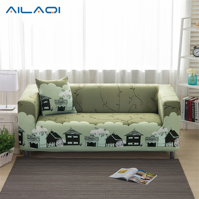 1/2/3/ Seat Plush Flexible Stretch Sofa Cover Big Elasticity Couch Cover