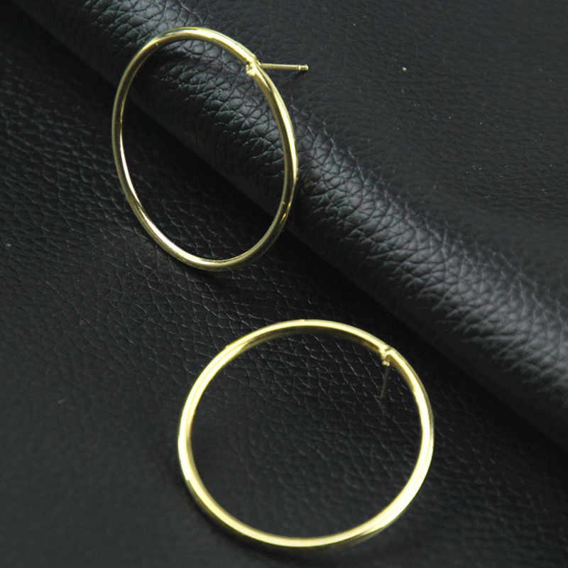 חרישת נשים Brinco 2020 למעלה אופנה קידום Pendientes עגילי ציצית מהדורת האן נדבק ג 'וקר פיגמנט משטח מעגל
