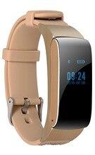 Smart Band DF22 talkband Bluetooth часы браслет Портативный говорить SmartBand шагомер Активный Фитнес-трекер для iOS телефона Android