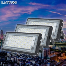 Led Flood Light 220V 240V FloodLight 50W LED street Lamp Waterproof Landscape Lighting IP65 Led Spotlight Outdoor Lighting