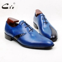 Free Shipping Custom Adhesive Handmade Pure Genuine Calf Leather Men S Dress Oxford Color Violet Shoe