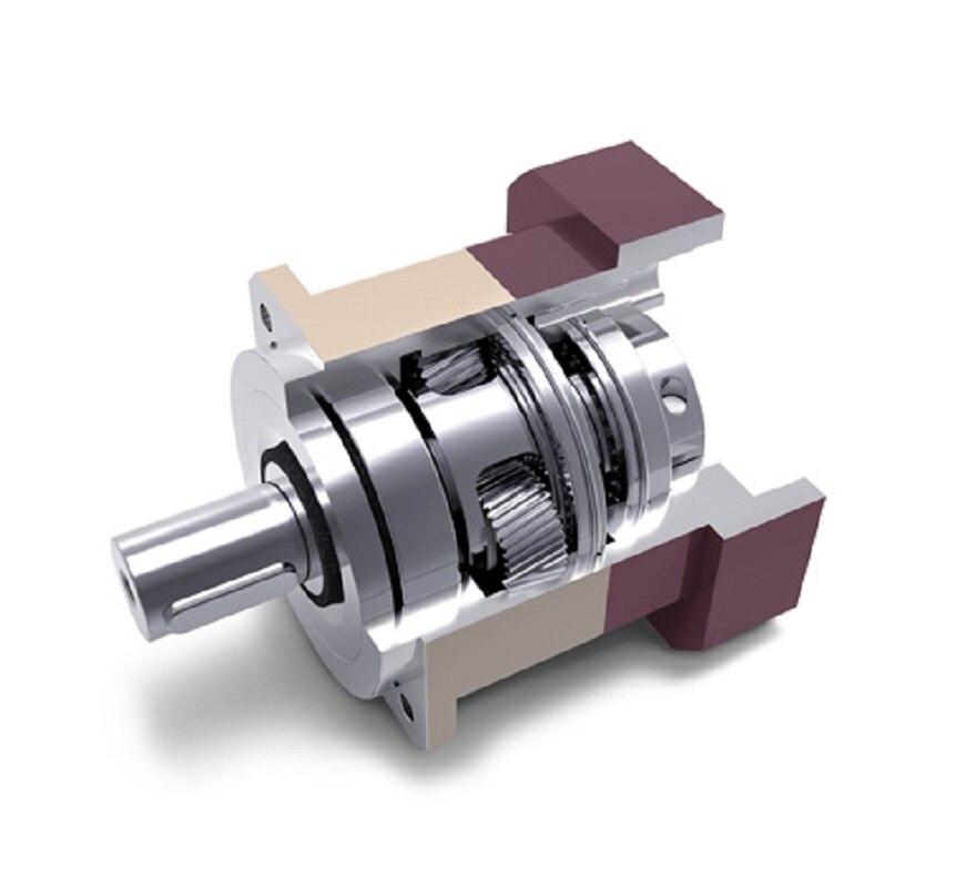 5 arcmin high Precision Helical planeten minderer getriebe 3:1 zu 10:1 für NEMA23 57 schrittmotor eingang welle 6,35mm
