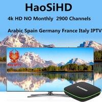 Beste Arabisch Iptv Box Verbesserte Version Lebensdauer freeTV Unterstützung Nearly1400 + IPTV Arabisch Frankreich Norwegen schweden Australien USA Kanal-in Digitalempfänger aus Verbraucherelektronik bei