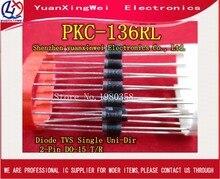 TRASPORTO LIBERO PKC 136 DIODE TVS 160 V/700 V DO 15 pkc136 PKC 20PCS