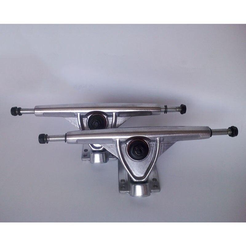 Prix pour 2 pcs/paire 7 Pouces En Aluminium Pont Professionnel Universel Longboard Planche À Roulettes Camion Support Livraison Gratuite