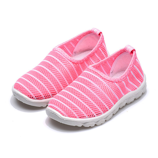 2019 New Summer Fashion Kids Shoes Cut-outs Air Mesh Breathable Shoes For Boys Girls Children Sneakers Baby Boy Girl Sandals 3