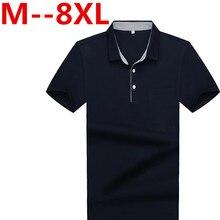 Plus 2017 9XL 8XL 7XL 6XL 5XL 4XL Men Polo Shirt Men Business & Casual solid male polo shirt Short Sleeve breathable polo shirt