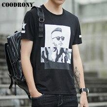 COODRONY 2019 Summer New Casual Streetwear T Shirt Men Hip Hop Tee Homme 3D Pattern Tshirt Short Sleeve T-Shirt S95084