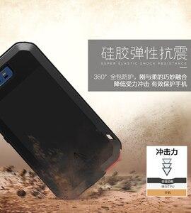 Image 4 - Huawei P30 P40 Pro P20 lite P10 Mate 30 Pro 20 10 Nova 4e 3e 4 durumda aşk MEI metal zırh alüminyum silikon su geçirmez kılıf