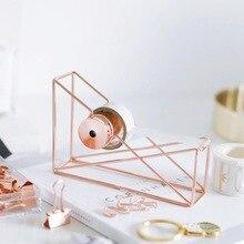 1 шт.* резак для ленты розовое золото полый резак для ленты Васи органайзер для хранения канцелярские товары офисные принадлежности новинка