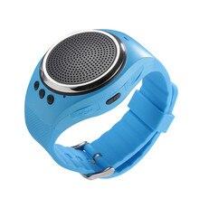 RS09 High quality  Smart Watch Hands-free call With Self-timer Anti-Lost Alarm TF Card FM Radio Music Sport Mini Bluetooth Speak