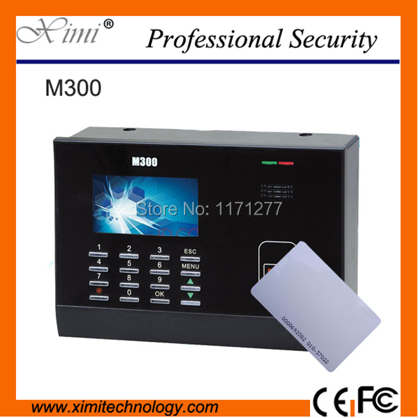 Hot selling good quality standalone  M300 125KHz ID card time attendance machine  employee time record office device original ni pci 6503 selling with good quality