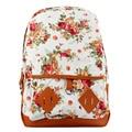Fashion Causal Floral Printed Backpacks For Teenage Girls School Bags Cute Rucksack School Backpack mochilas mujer 2016 #624