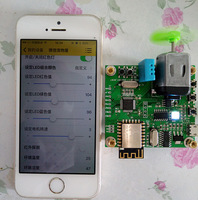 Free shipping 2pcs/lot Stm32+esp8266 wifi IOT cloud development board smart home to send app source code
