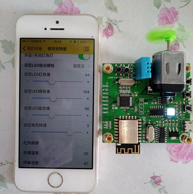 Ücretsiz kargo 2 adet/grup Stm32 + esp8266 wifi IOT bulut geliştirme kurulu akıllı ev göndermek için app kaynak kodu|ABS Sensörü|Otomobiller ve Motosikletler - title=
