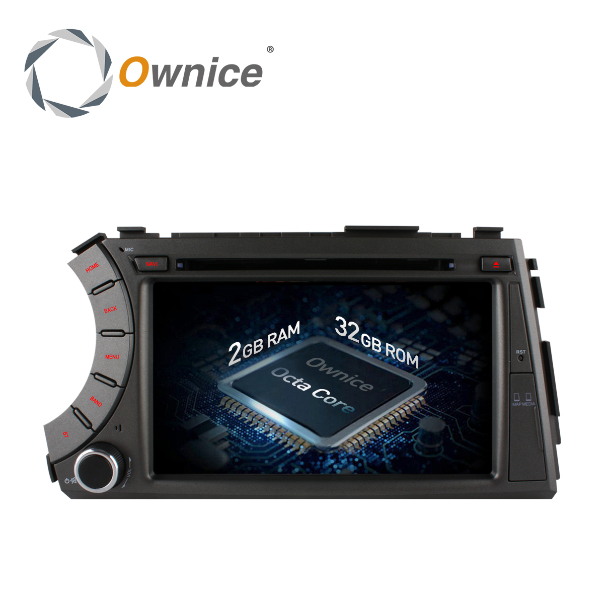 Ownice C500 Octa 8 Core Android 6.0 Car DVD for ssangyong Actyon Kyron with car gps radio wifi 2GB RAM 32GB ROM Support 4G LTE ownice c500 g10 octa core 2gb ram 32g rom android car dvd 8 1 gps for mazda 6 summit 2009 2015 wifi 4g lte radio dab dvr