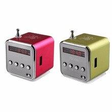 Mini Digital MP3 Music Player Micro SD TF USB Disk Speaker F