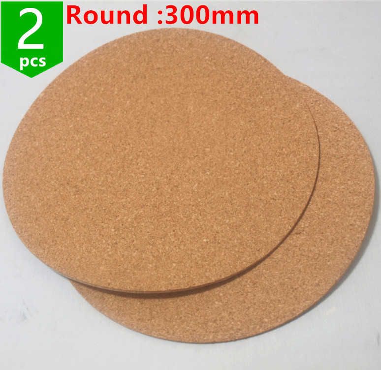 3d Printer Parts & Accessories 3d Printers & 3d Scanners Generous Swmaker 2pcs* Kossel 3d Printer Round 300mm Issulation Cork Sheet For Heatbed Heat Bed Hot Plate Round 300 Mmfor 3d Printer Street Price
