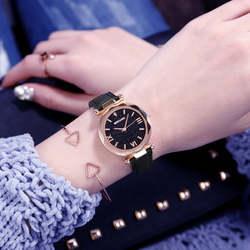 Роскошные для женщин s часы Zegarek Damski Кристалл женская одежда Relojes для женщин браслет кварцевые наручные часы кожа Feminino Montre