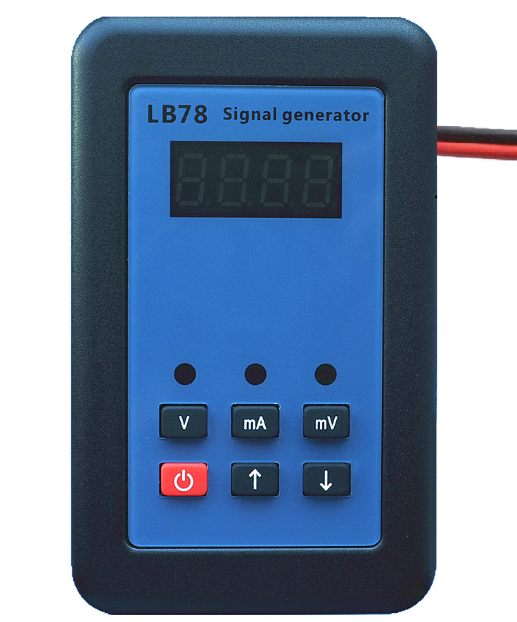 Resistance Current Voltmeter Signal Generator Source Process Calibrator 4-20mA/0-10V/mV LB78 hantek ht824 multifunction process calibrator correction voltage and current frequency usb signal generator industry inst