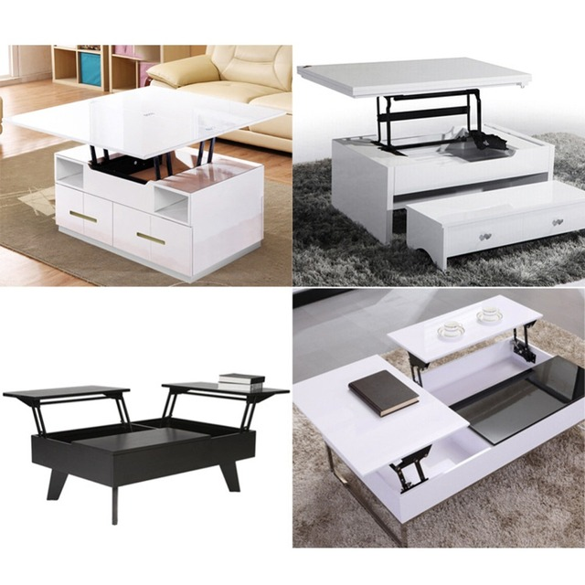 Aliexpresscom Buy 1Pair Lift Up Top Coffee Table Lifting Frame