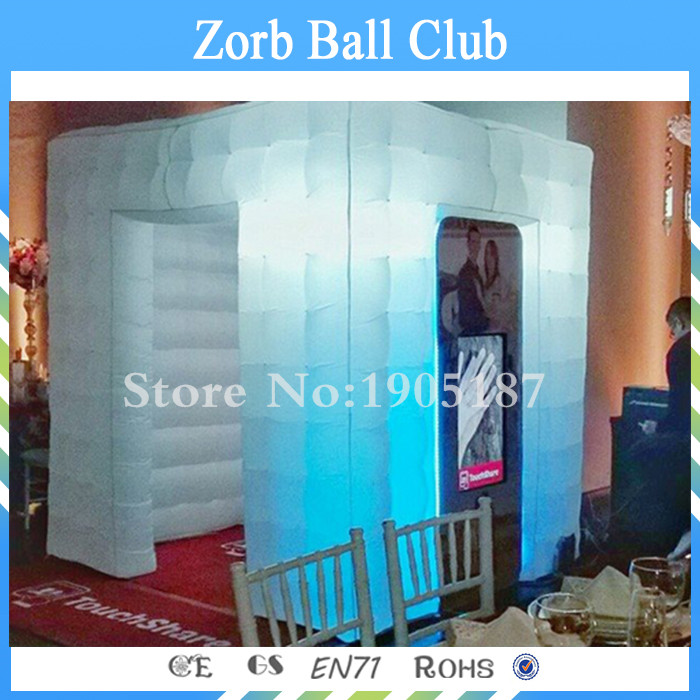 Free Shipping Inflatable Photo Booth/ Inflatable Cube Tent/ Inflatable Photo Studio attractive advertising inflatable booth white or colorful inflatable cube tent