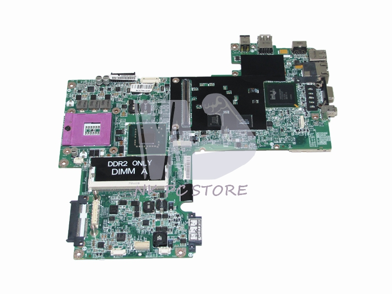 WP044 CN-0WP044 Main Board For Dell 1520 1500 Laptop Motherboard PM965 DDR2 with Free CPU cn 0vx53t 0vx53t vx53t main board for dell inspiron n5010 laptop motherboard 48 4hh01 011 hm57 ati hd 5470 ddr3