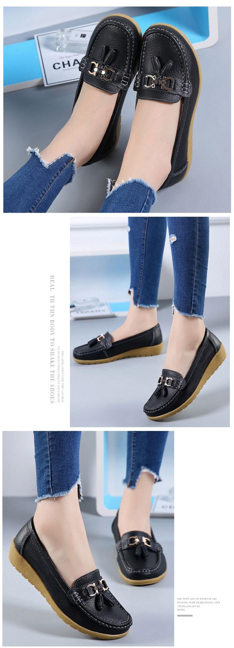 Spring women genuine leather shoes HTB1XAC9fTqWBKNjSZFAq6ynSpXaV