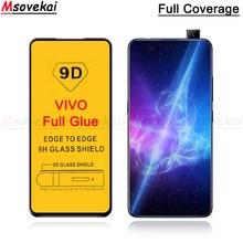 5D 9D Full Glue Tempered Glass For VIVO V15 Pro V11 Y91i Y95 Y93 Y97 NEX Dual Display Cover Screen Protector Film