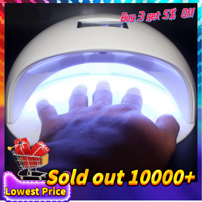 48W UV Led Lamp For Drying Gel Nail Polish Ice Lamp SUN Nail Dryer For Nail
