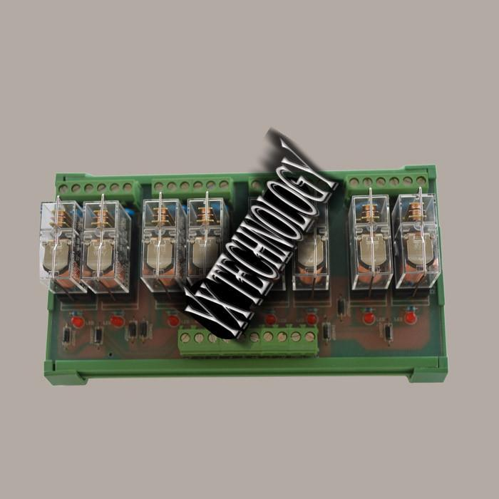 8 relay module relay module combination relay PLC enlarged board 24VDC RJ2S-824(G2R1)