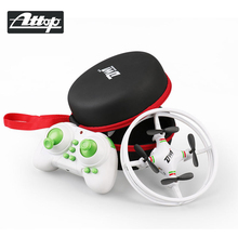 ATTOP Радиоуправляемый Дрон мини дроны-Квадрокоптеры Безголовый высокая прочность дистанционное управление самолета игрушка для детей подарок малы