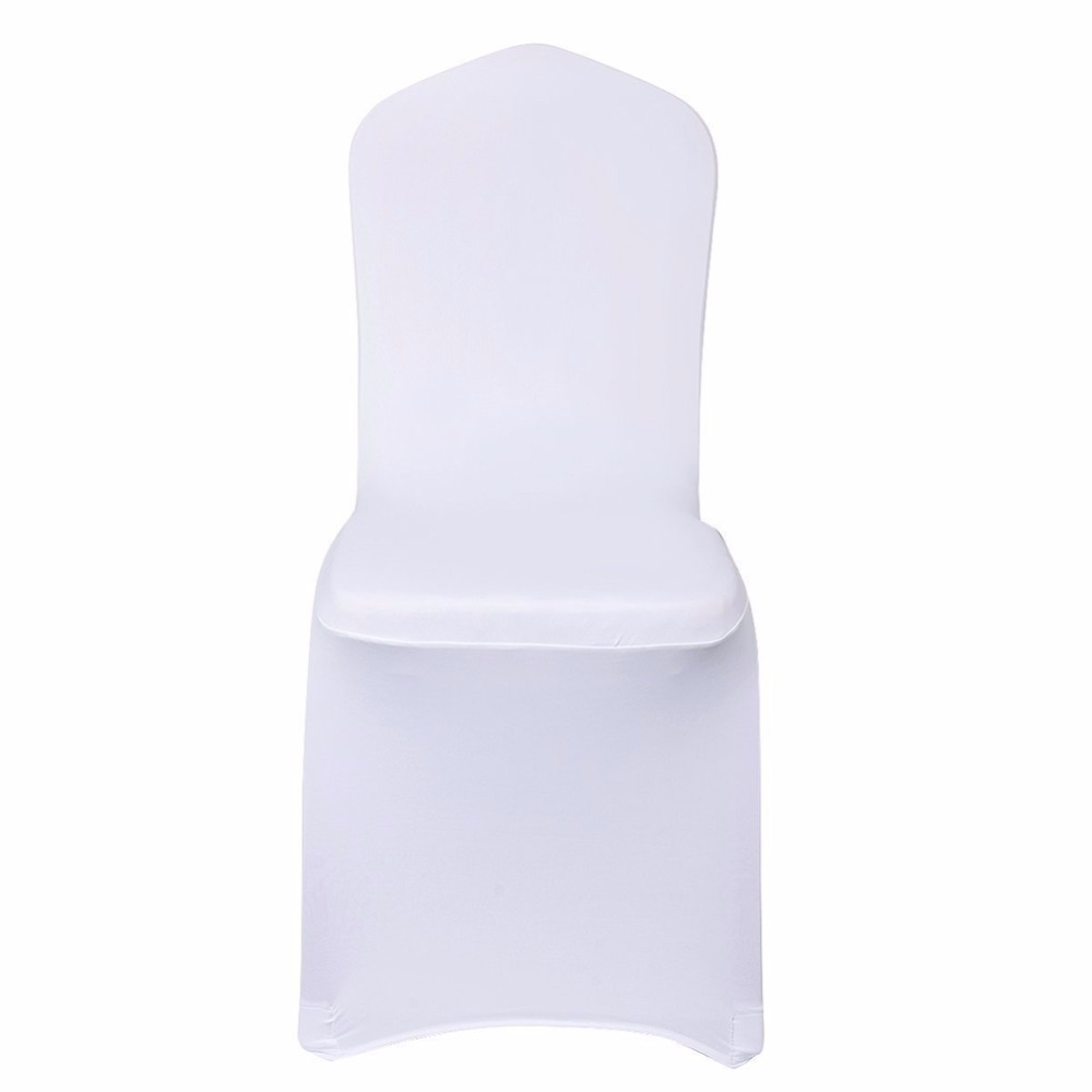 Awesome High Quality Universal White Black High Stretch Chair Cover Pabps2019 Chair Design Images Pabps2019Com