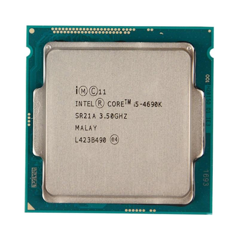 Intel Core  I5 4690K Quad-Core CPU Processor 3.5GHz/ 6MB/ Socket LGA 1150