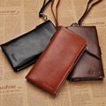 Mini Multifunction Men Genuine Leather Key Wallet with Coin Bag and Credit Card Pocket High Quality Vintage Pouch